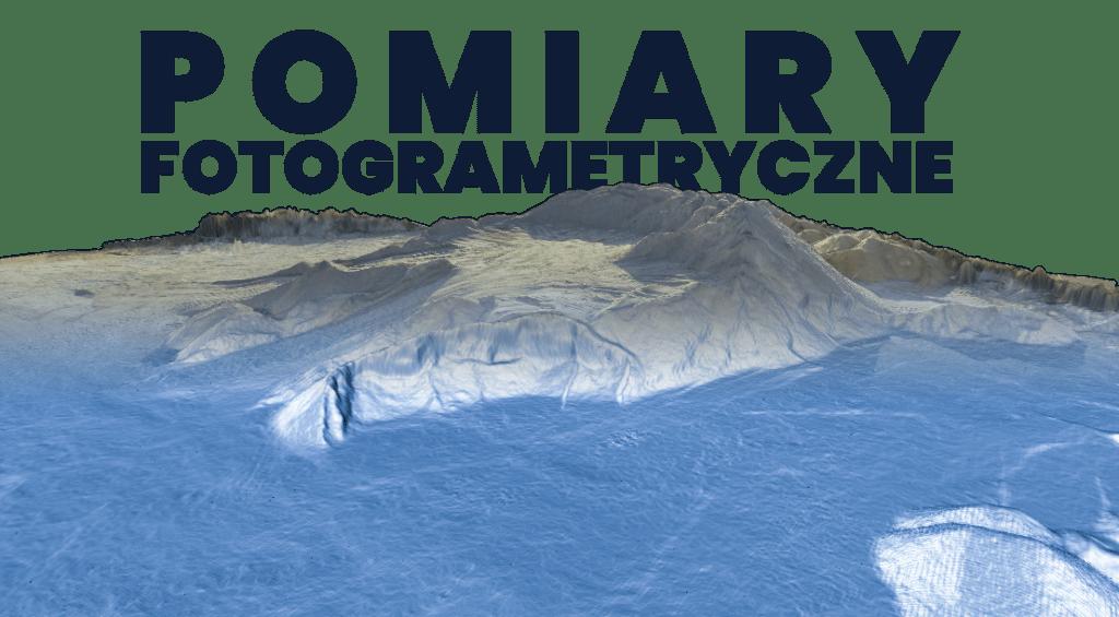 Pomiary fotogrametryczne dronem
